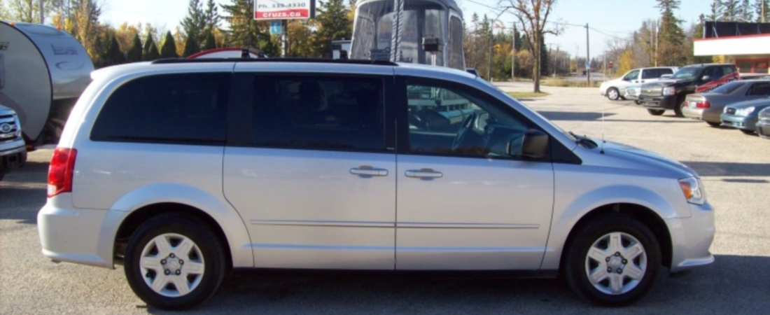 Minivans - Lots of different styles to choose from